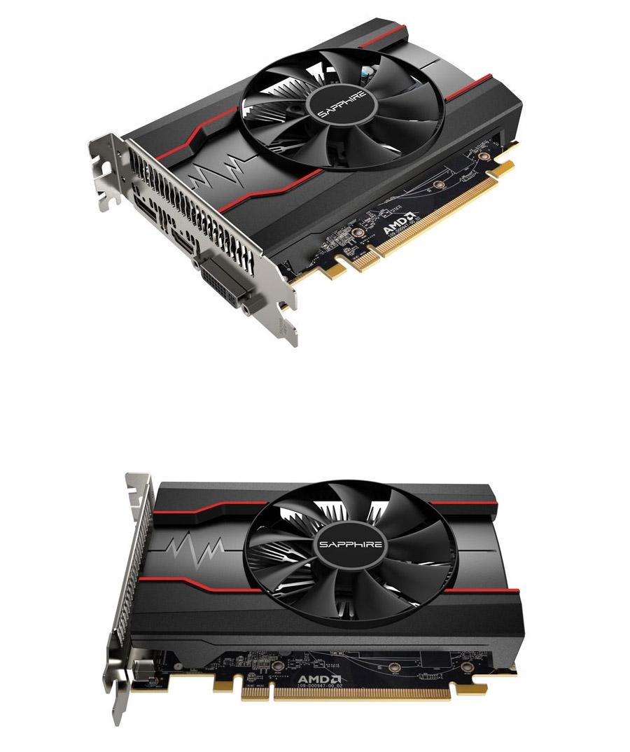 Sapphire Radeon Rx 550 Pulse Oc 4gb Rx55001pluse Pc Case Gear Rx550 Is Up To 5x Faster Than An Intel Integrated Graphics And 2x The Previous Generation R7 250 Backed By A 2 Year