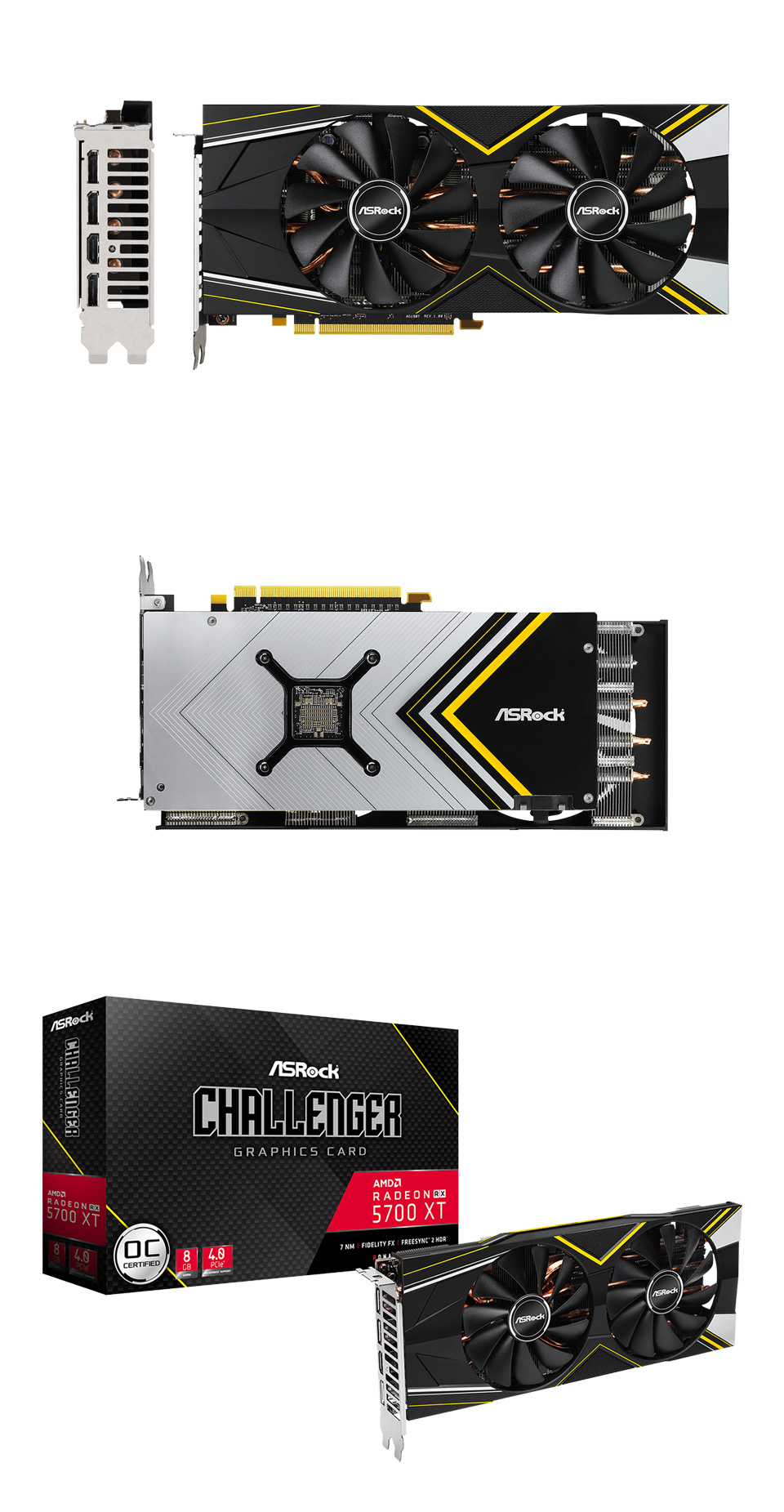 ASRock Challenger D Radeon RX 5700 XT 8GB product