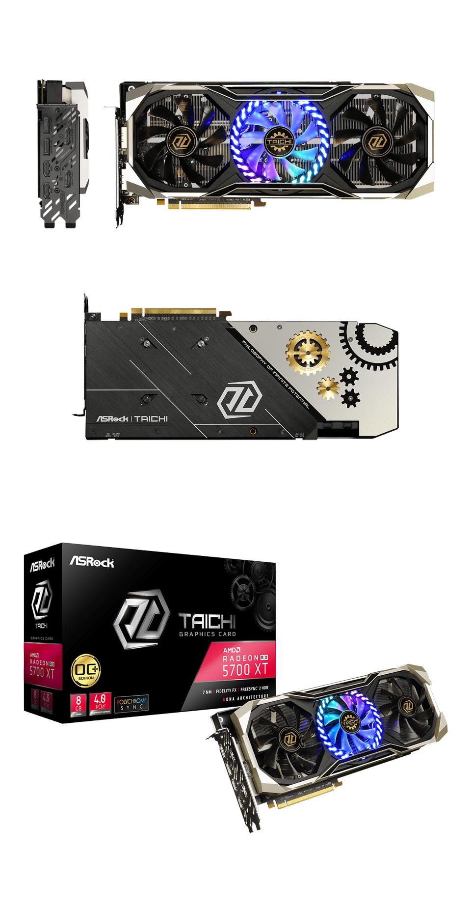 ASRock Taichi Radeon RX 5700 XT 8GB product