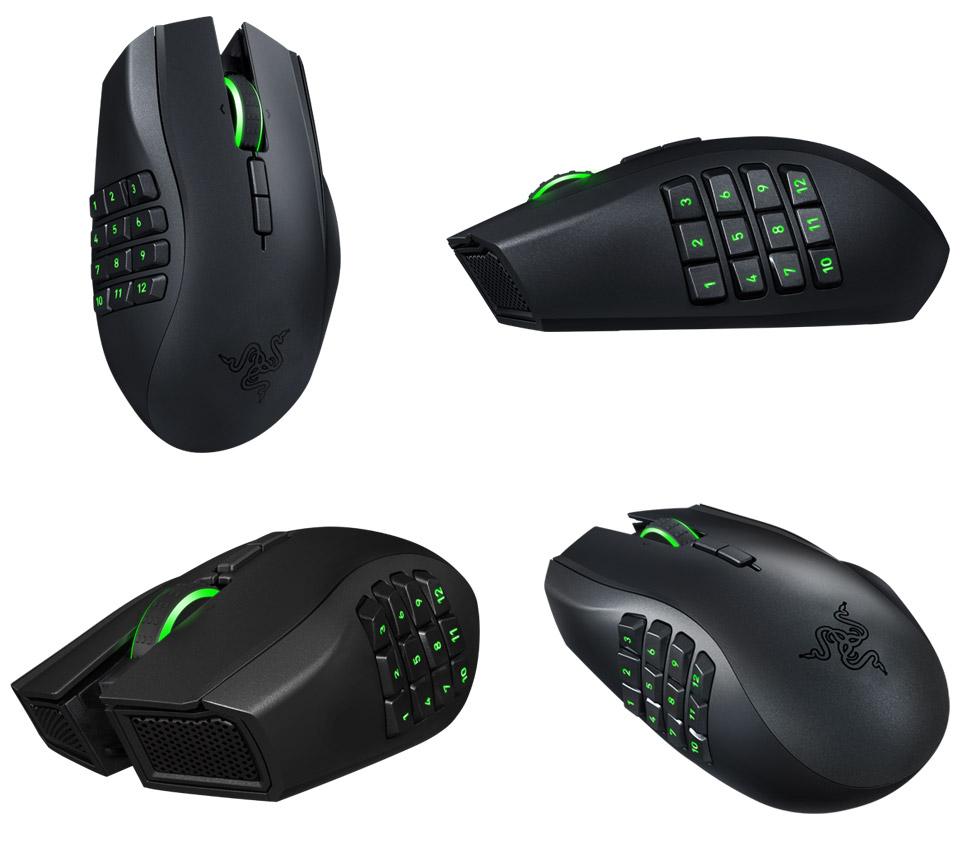 Razer Naga Epic Chroma Wireless MMO Gaming Mouse [RZ01-01230100] : PC Case Gear