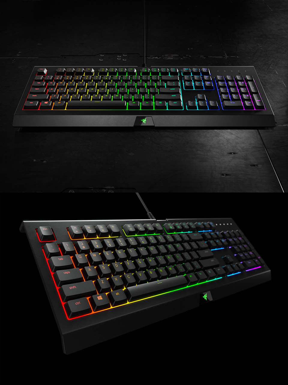 Razer Cynosa Chroma Gaming Keyboard Rz03 02260100 Pc