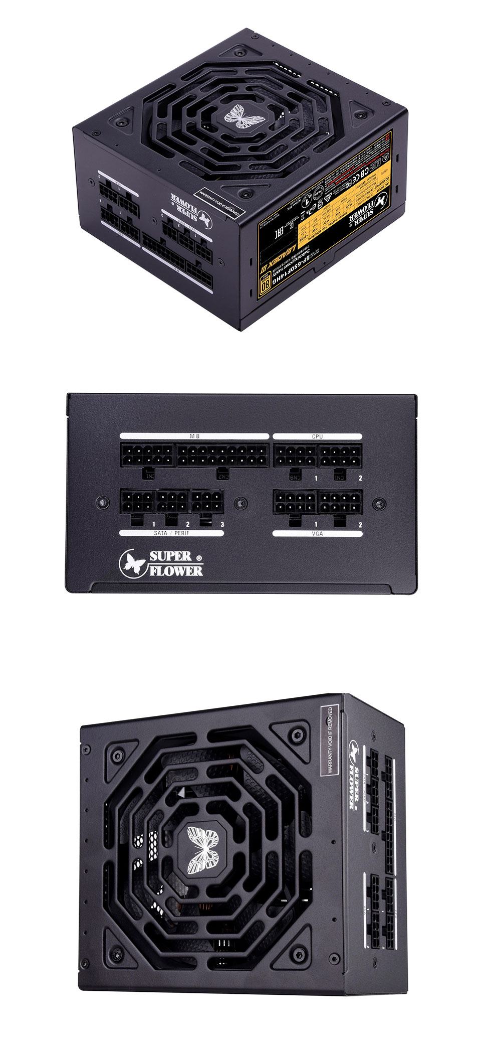 Super Flower Leadex III Gold 650W Power Supply product images