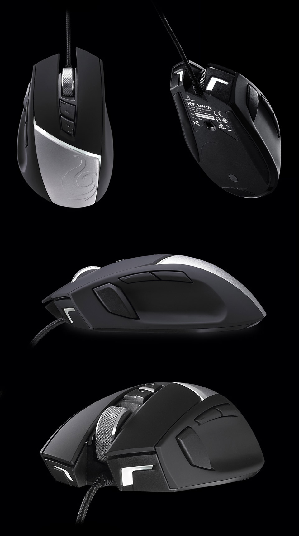 788b1083546 ... adjustable DPI up to 8200, LED lighting, a customisable palm rest and  much more. Designed for comfort, the CM Storm Reaper is the ultimate gaming  mouse.