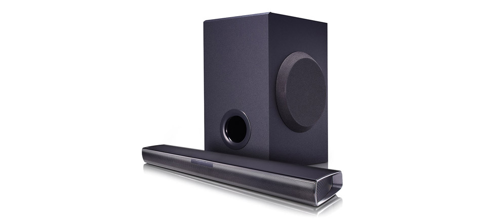 LG SJ2 Soundbar with Wireless Subwoofer product