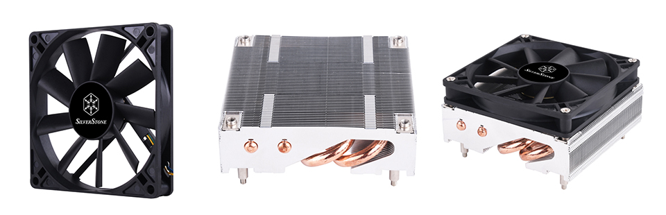 SilverStone AR11 Low Profile CPU Cooler product