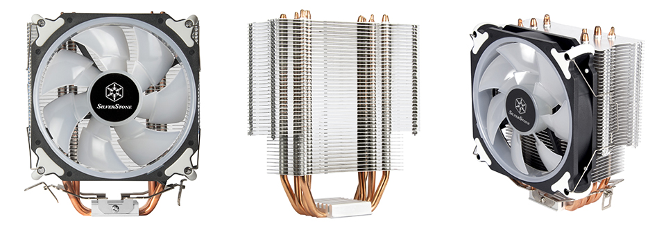 SilverStone AR12 RGB CPU Cooler product