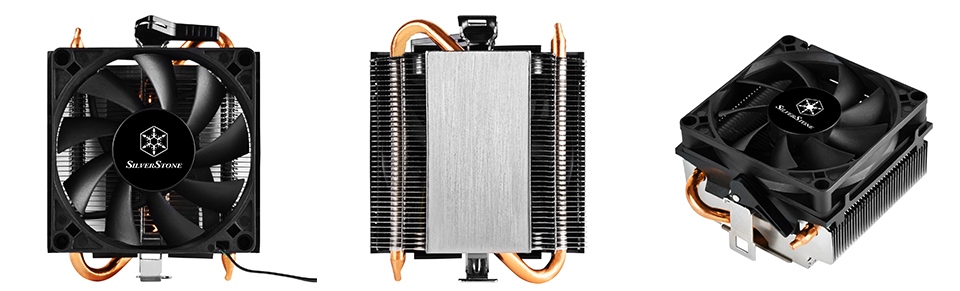 SilverStone KR01 Low Profile CPU Cooler product