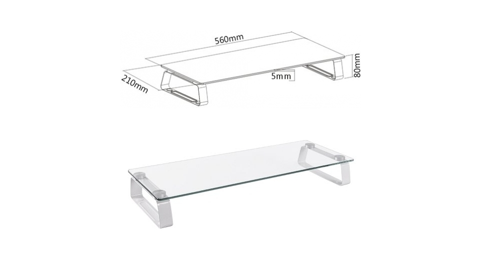 Brateck STB-062 Universal Tabletop Monitor Stand product