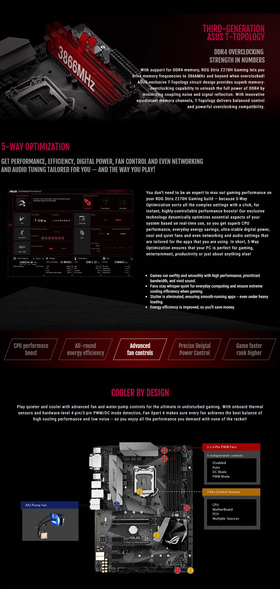 Resultado de imagen para fotos  asus strix z270h Gaming
