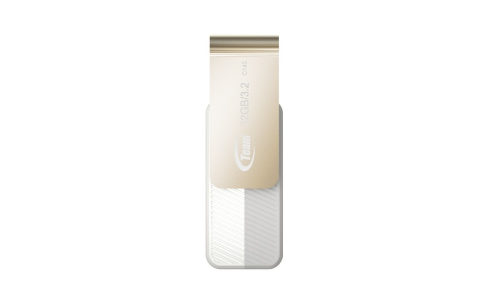 Team Group C143 USB 3.2 Flash Drive 32GB White product