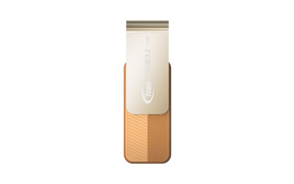 Team Group C143 USB 3.2 Flash Drive 64GB Brown product