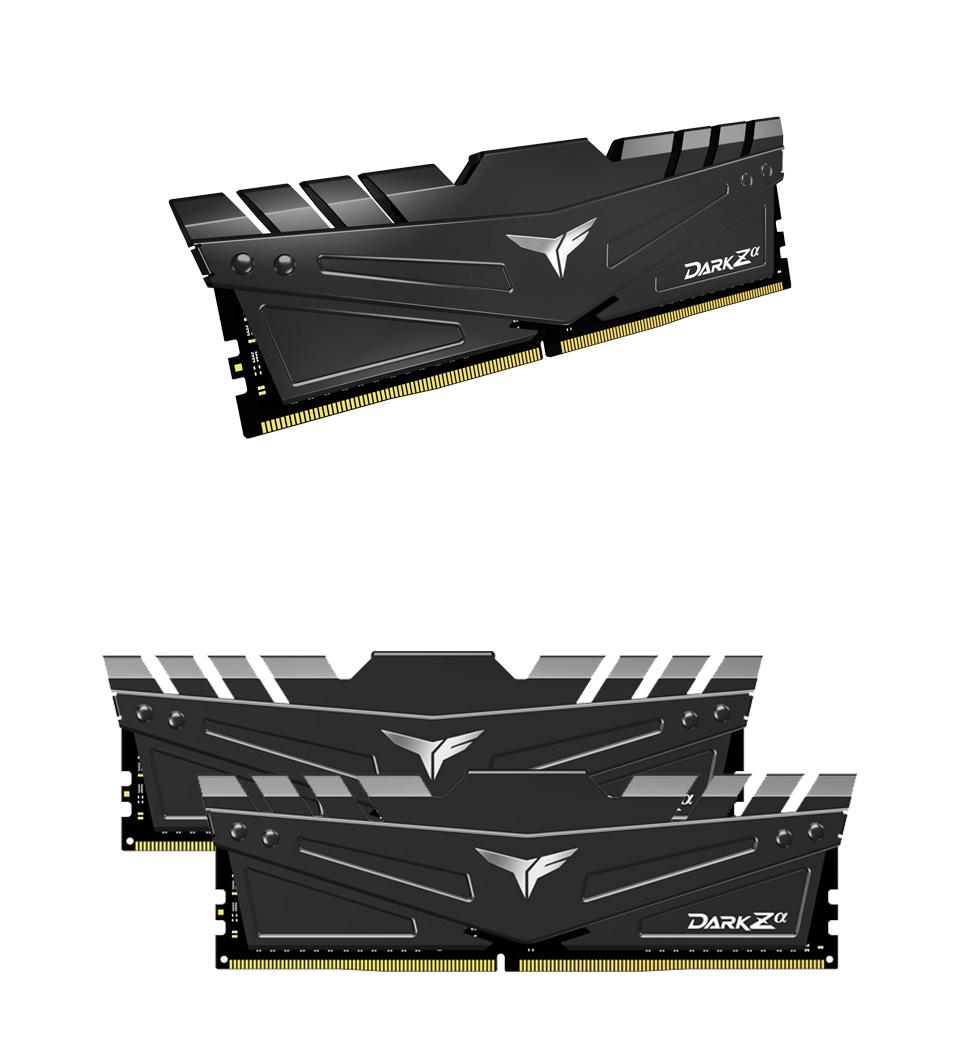 Team T-Force Dark Za 16GB (2x8GB) 3600MHz CL18 DDR4 Black product