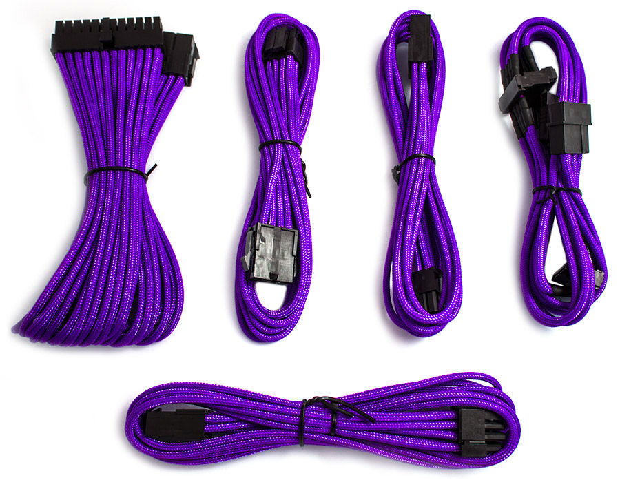 Pccg Sleeved Cable Extension Kit Purple Tl Cab Bkit Kp