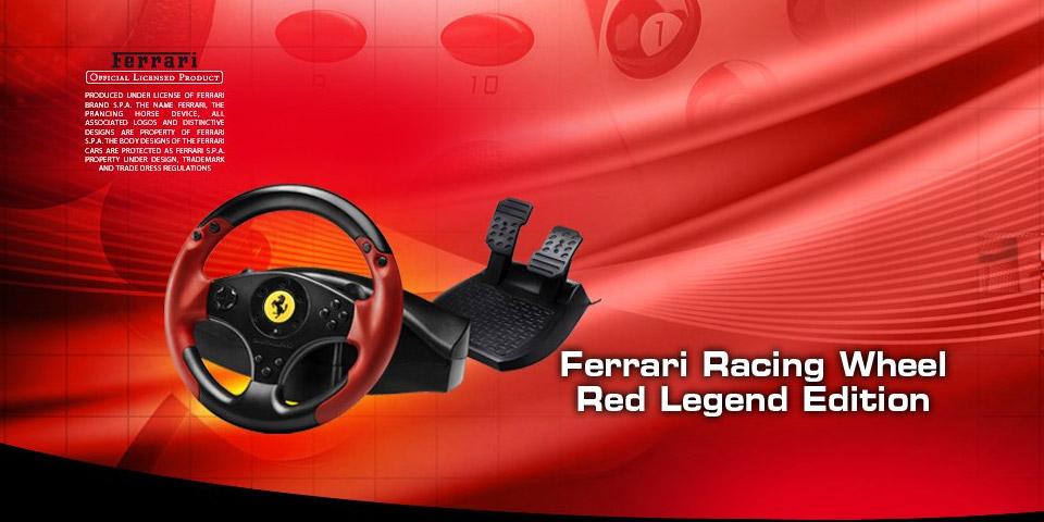 Thrustmaster Ferrari Racing Wheel Red Legend Edition Treiber
