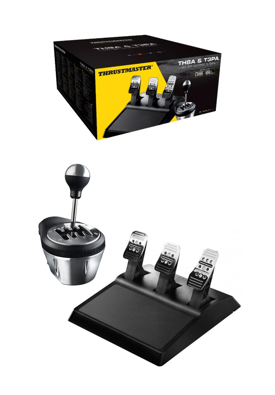 Thrustmaster TH8A /T3PA Race Gear product