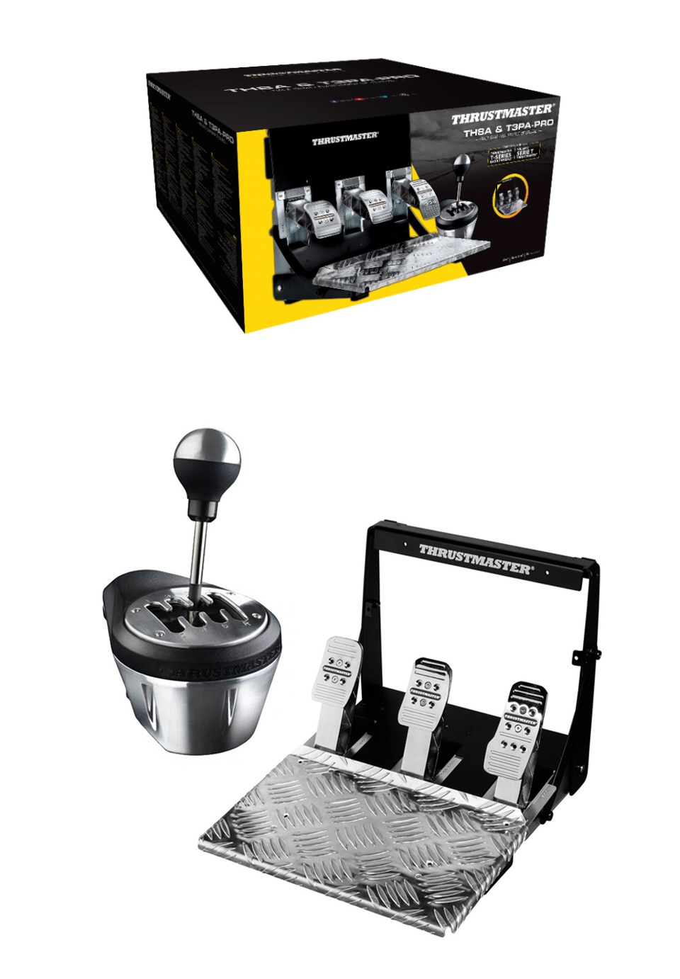 Thrustmaster TH8A/T3PA Pro Race Gear Bundle product