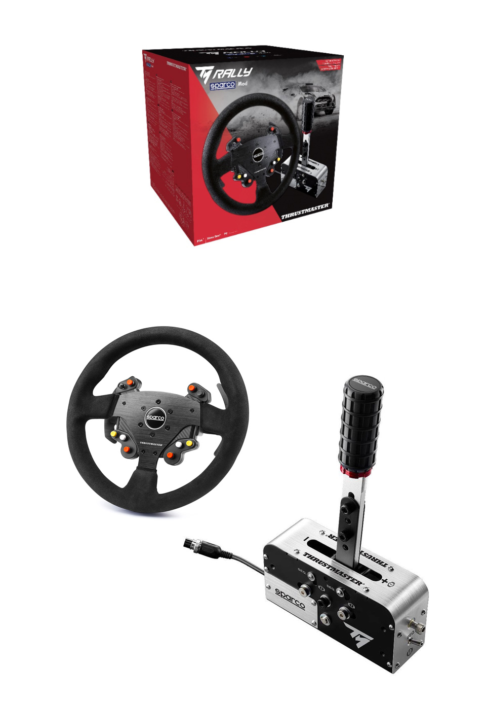 Thrustmaster Rally Race Gear Sparco MOD product