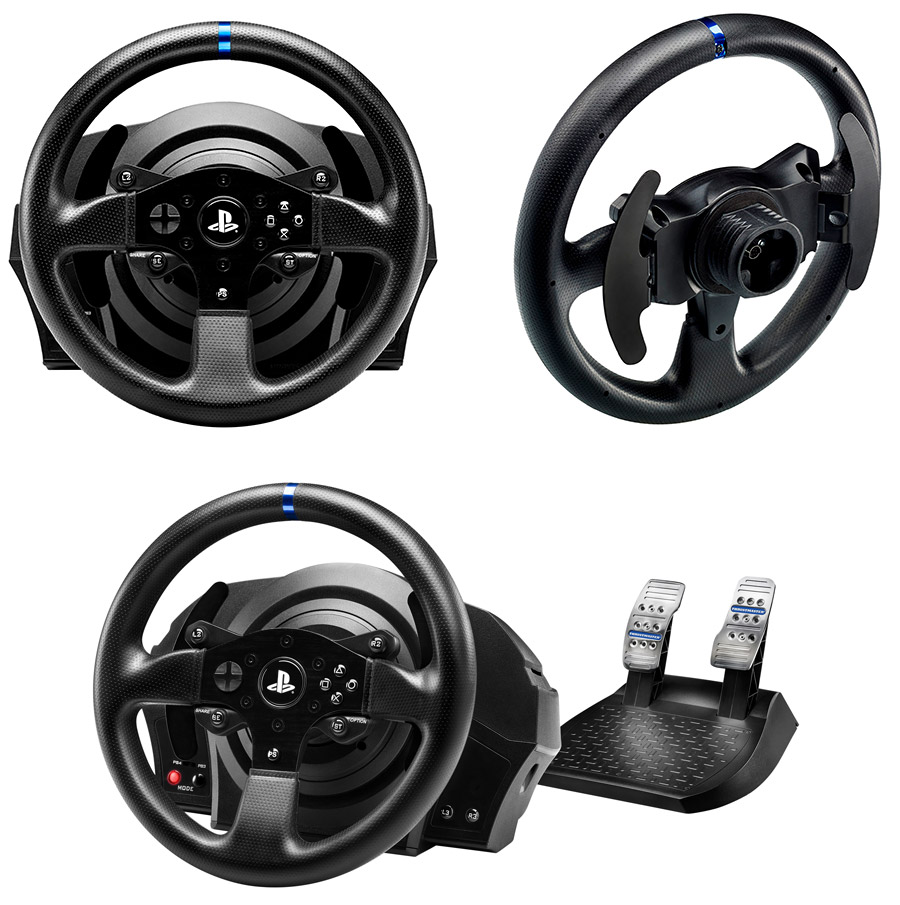 thrustmaster t300 rs racing wheel tm 4160605 pc case gear. Black Bedroom Furniture Sets. Home Design Ideas