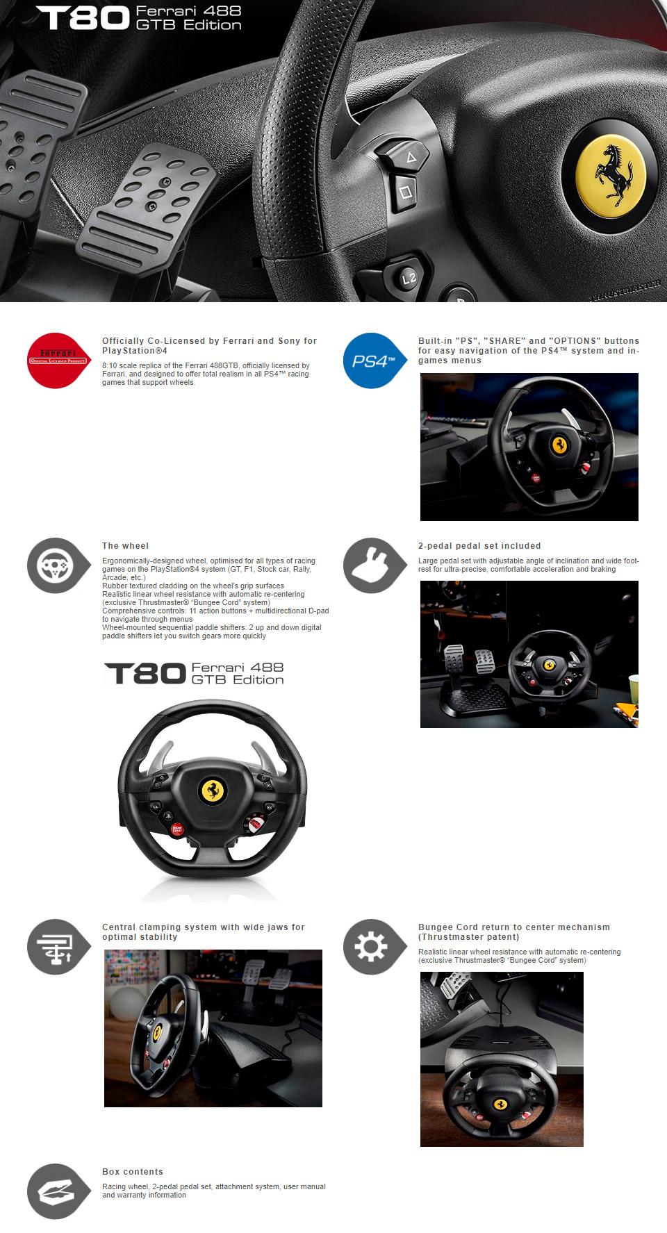 T80 Ferrari 488 Gtb Edition Ps4 Supercars Gallery