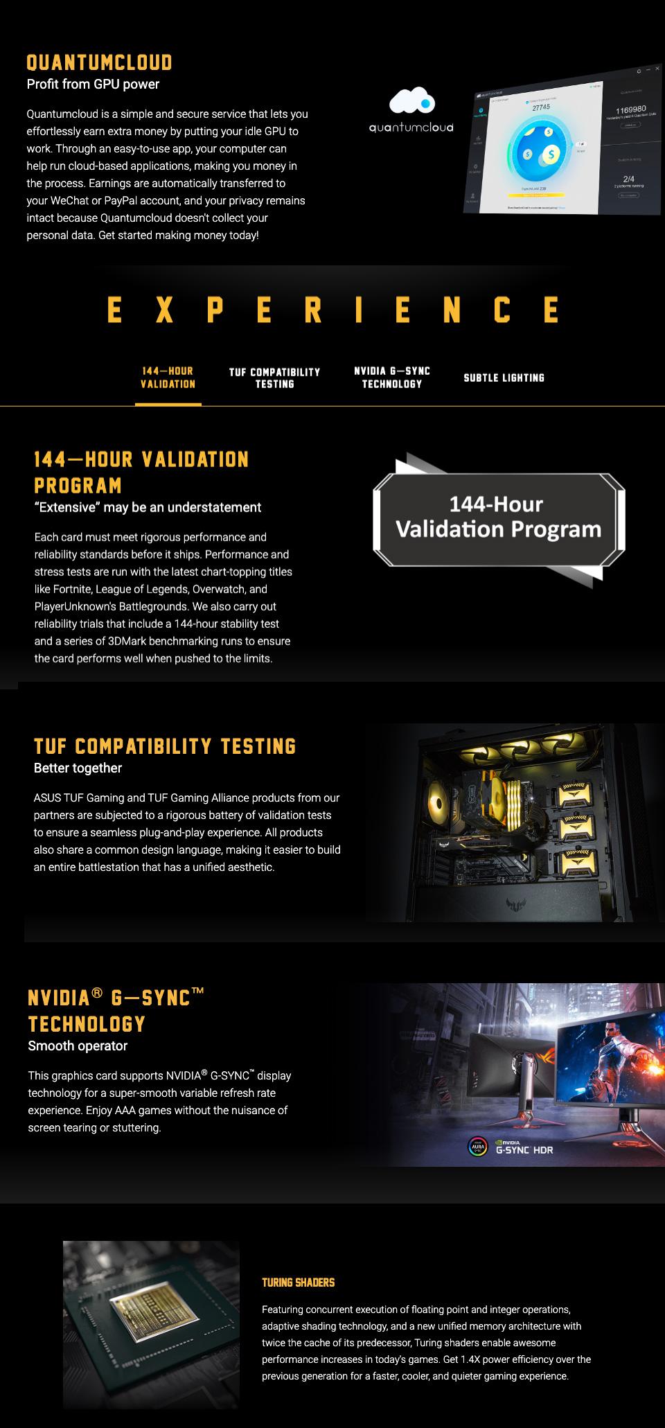 ASUS GeForce GTX 1660 Super TUF Gaming X3 OC 6GB features 3