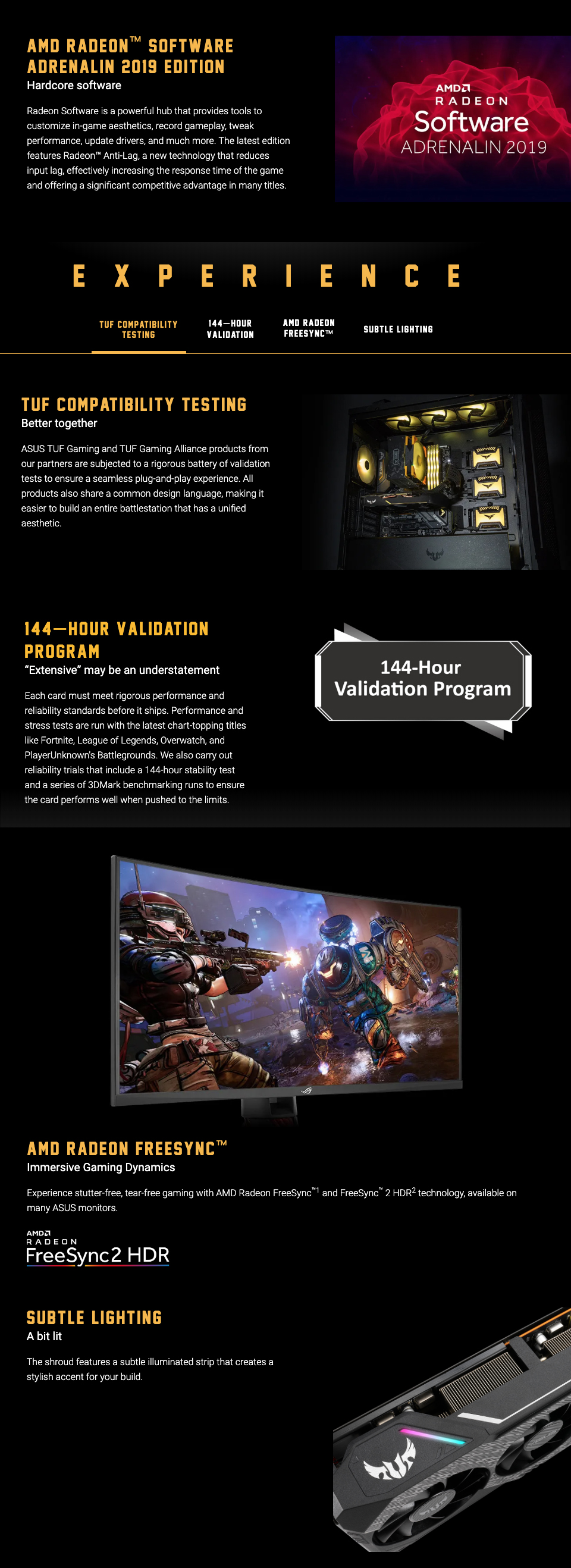ASUS TUF X3 Radeon RX 5700 XT OC 8GB