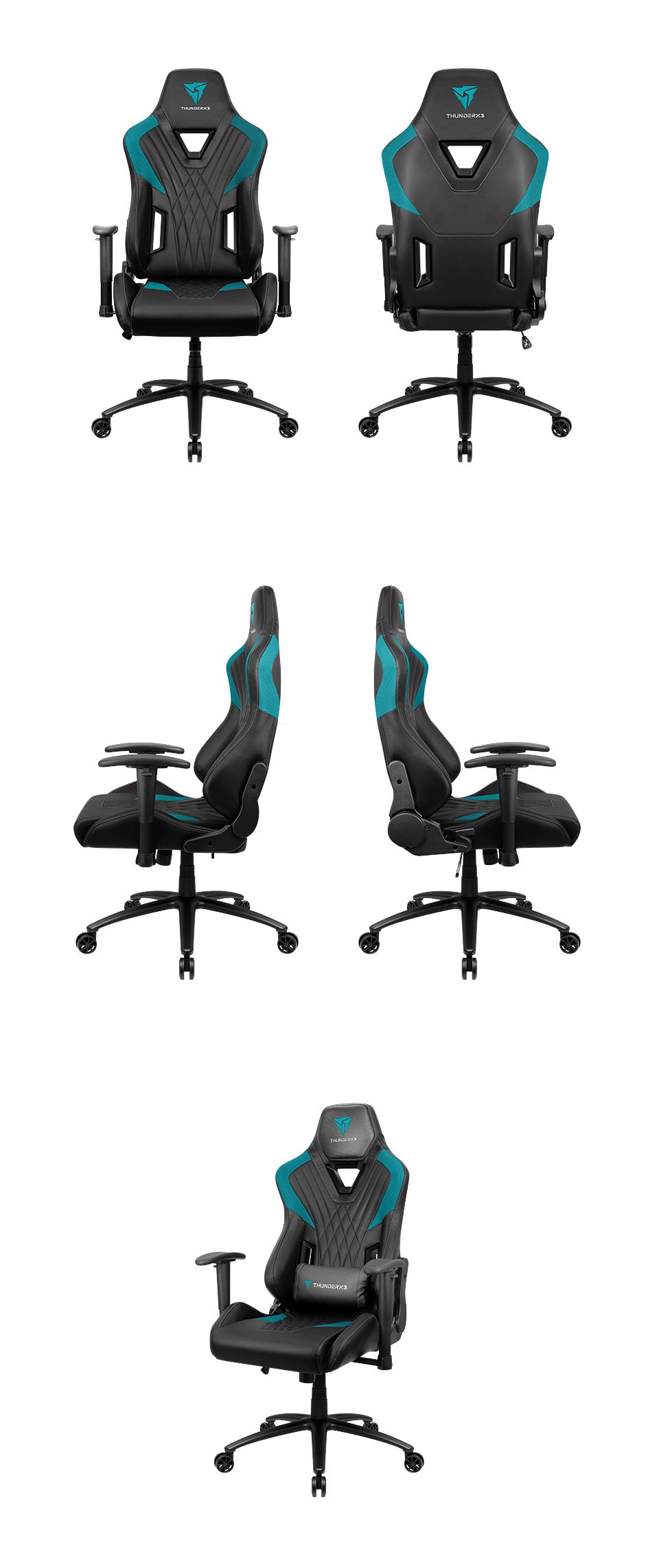 Aerocool ThunderX3 DC3 Gaming Chair Black Cyan product