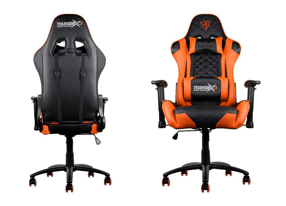 Aerocool Thunder X3 TGC12 Gaming Chair Orange TX3 TGC12 BO PC