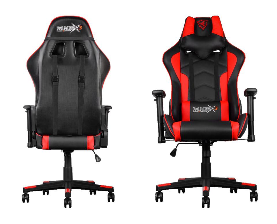 Aerocool Thunderx3 Tgc22 Gaming Chair Black Red Tx3 Tgc22