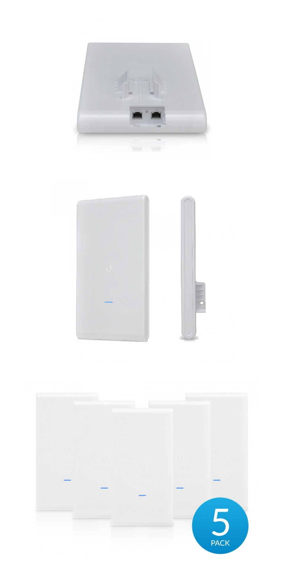 Ubiquiti UniFi Mesh Pro AC Outdoor MIMO Wi-Fi Access Point 5 Pack product