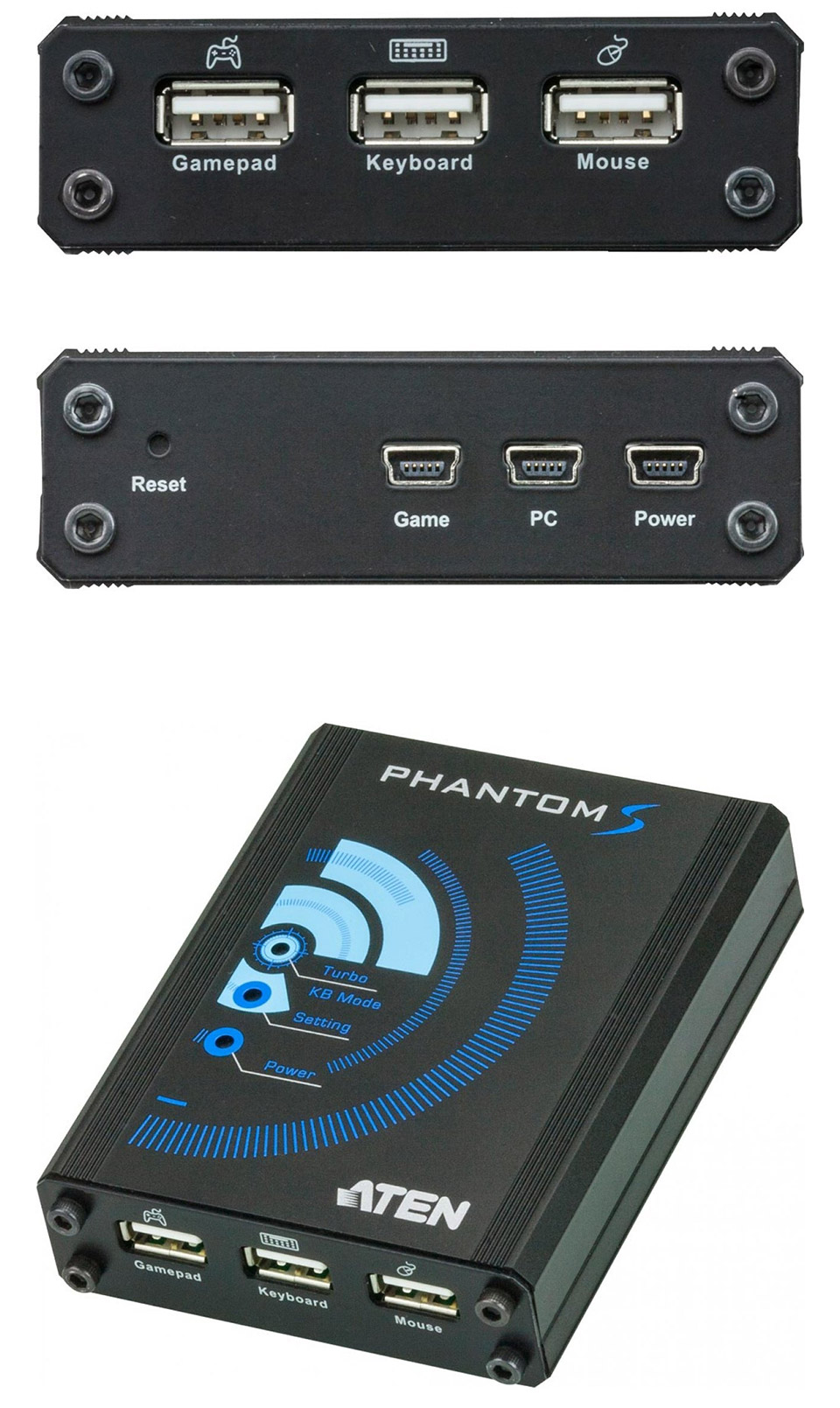 ATEN Phantom-S Gamepad Emulator for PS4 & Xbox One [UC-410] : PC