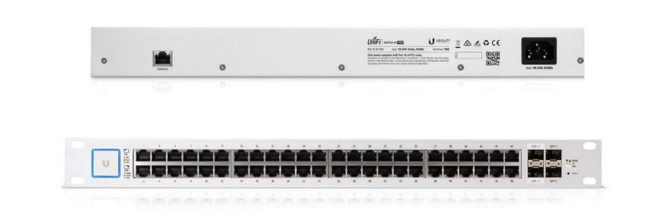 Ubiquiti UniFi 48 Port Managed PoE+ Switch with SFP [750W]
