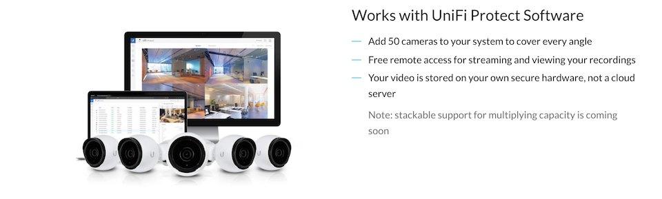 Ubiquiti UniFi Video Camera G3 Bullet 3 Pack features