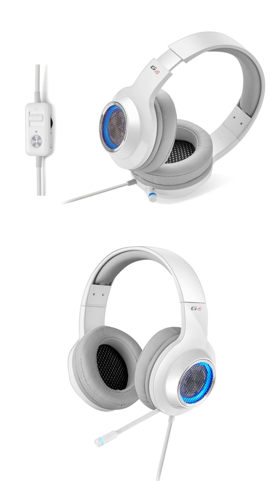 Edifier V4 (G4) 7.1 Virtual Surround Sound Gaming Headset White product