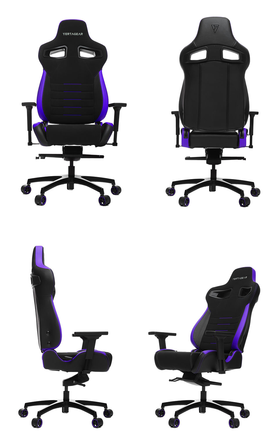 Vertagear Racing P Line Pl4500 Gaming Chair Black Purple