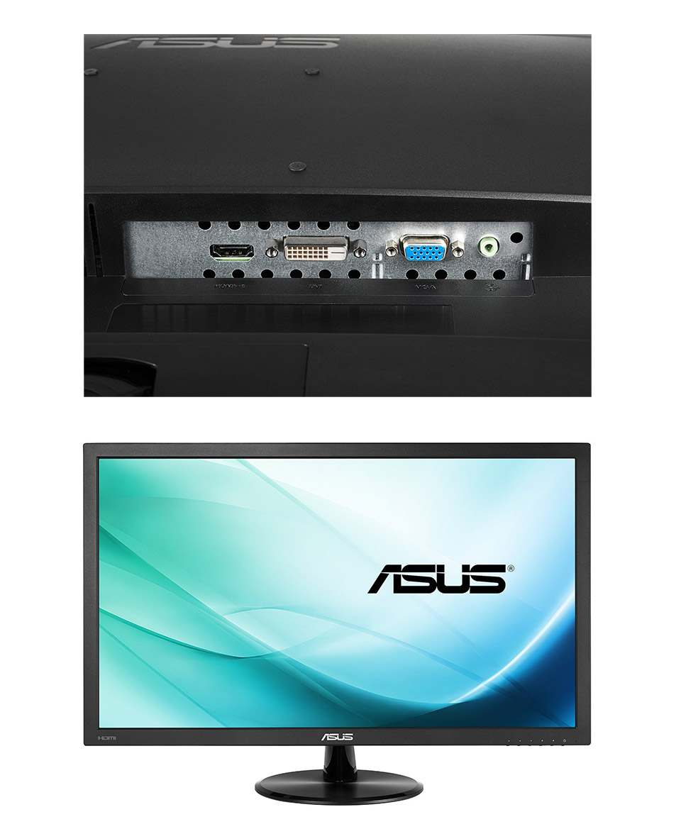 ASUS VP228H 21.5in Widescreen Eyecare LED Monitor [VP228H