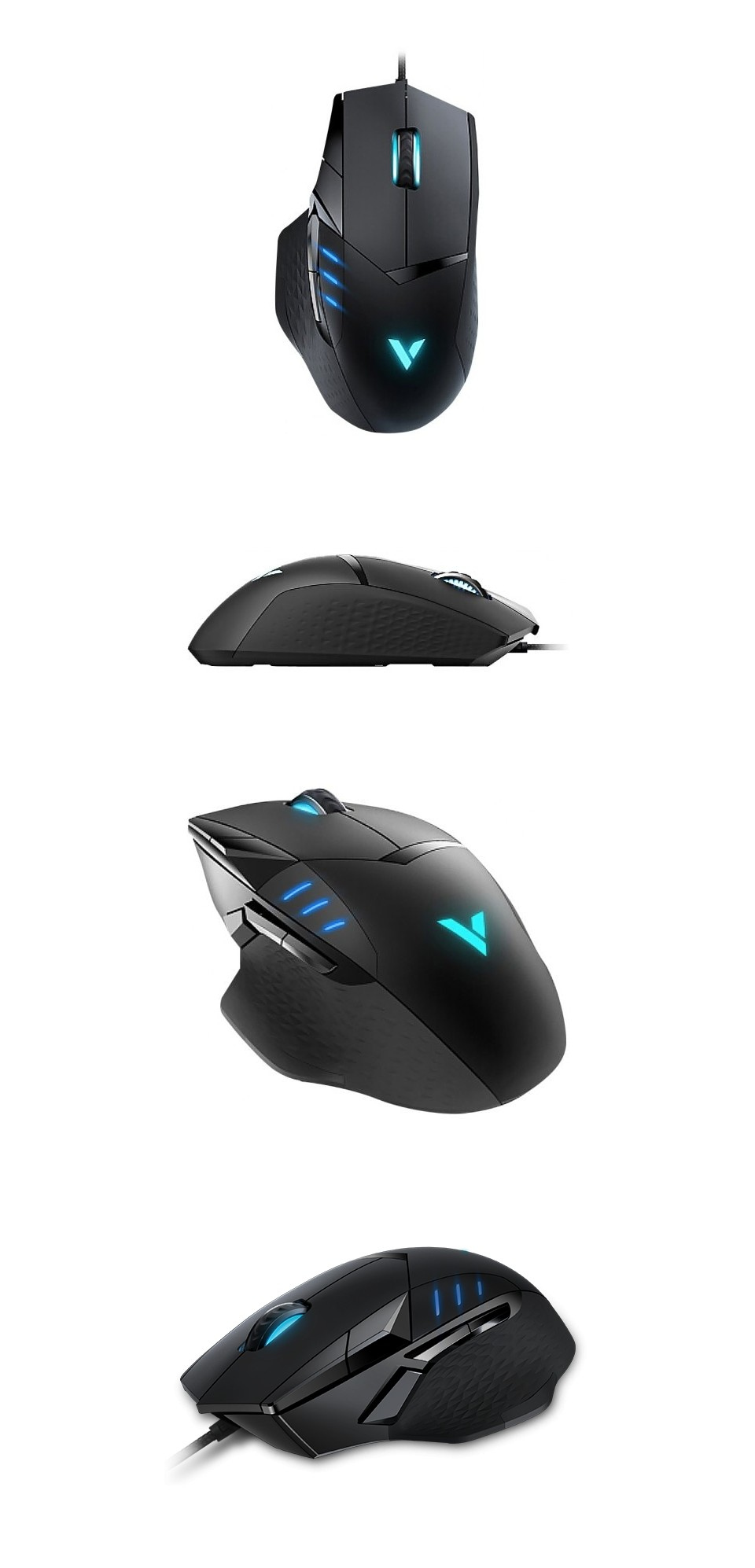 Rapoo VT300 IR RGB Optical Gaming Mouse product