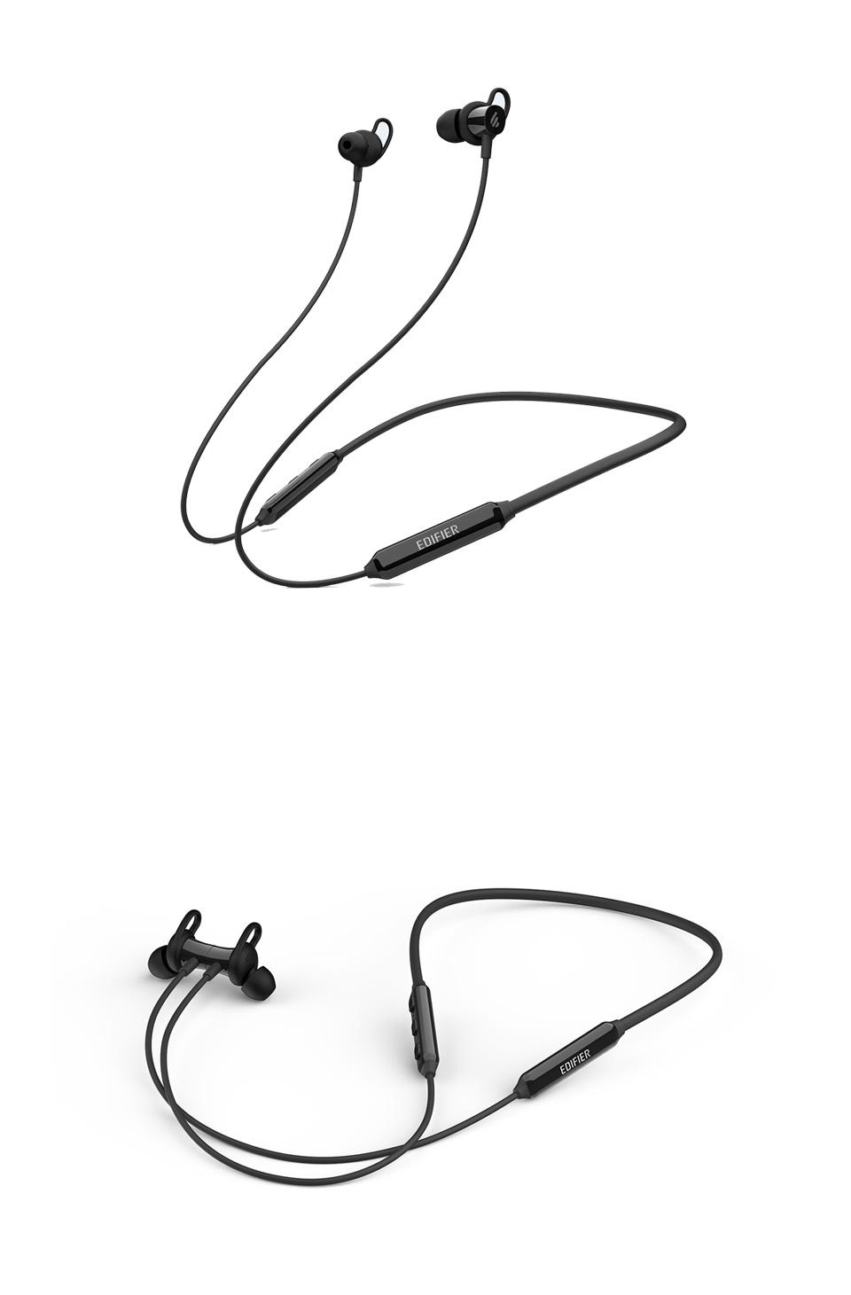 Edifier W200BT Bluetooth 5.0 Waterproof In-Ear Headphones Black product