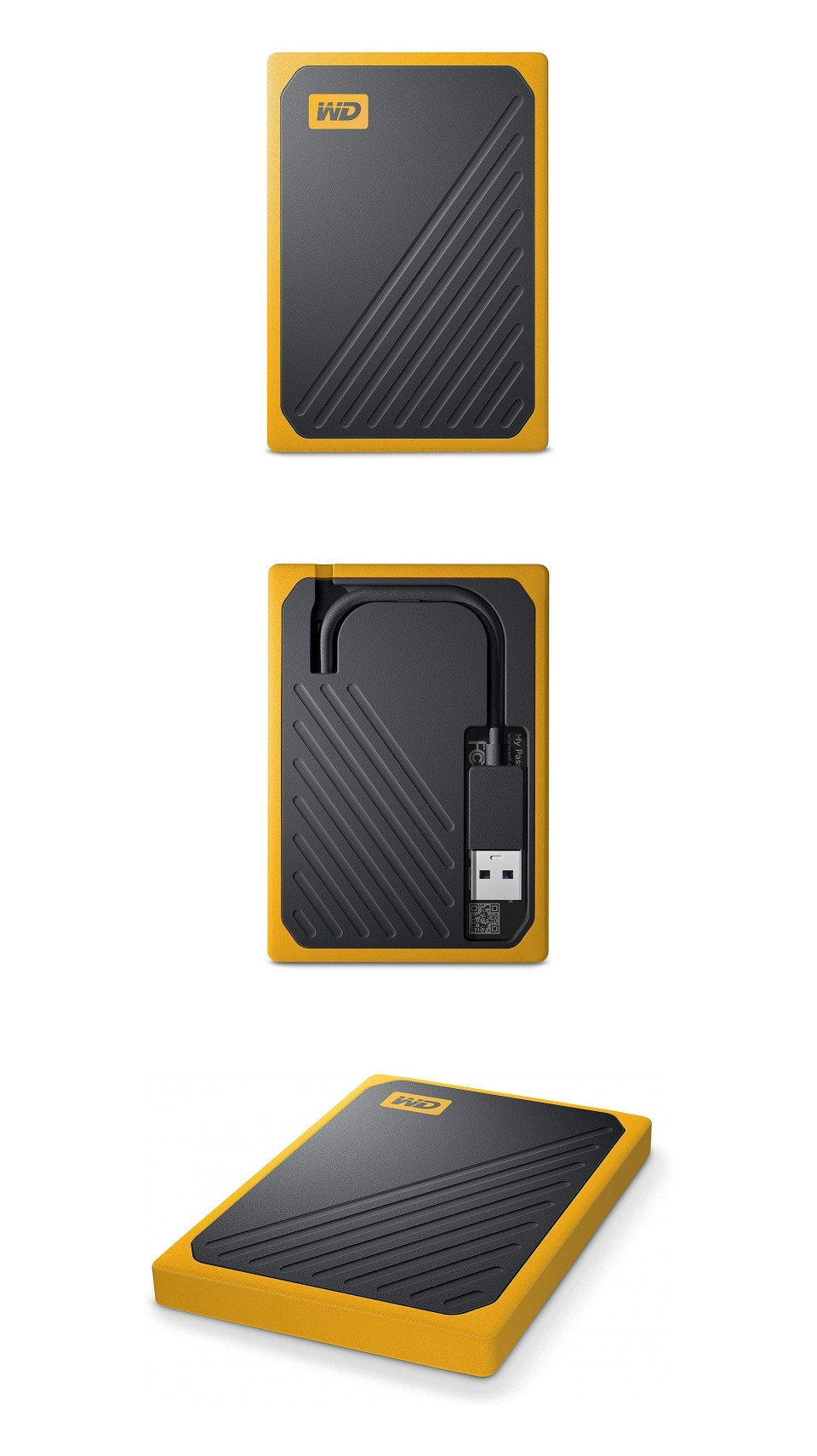 Western Digital My Passport Go Portable SSD 1TB Amber product