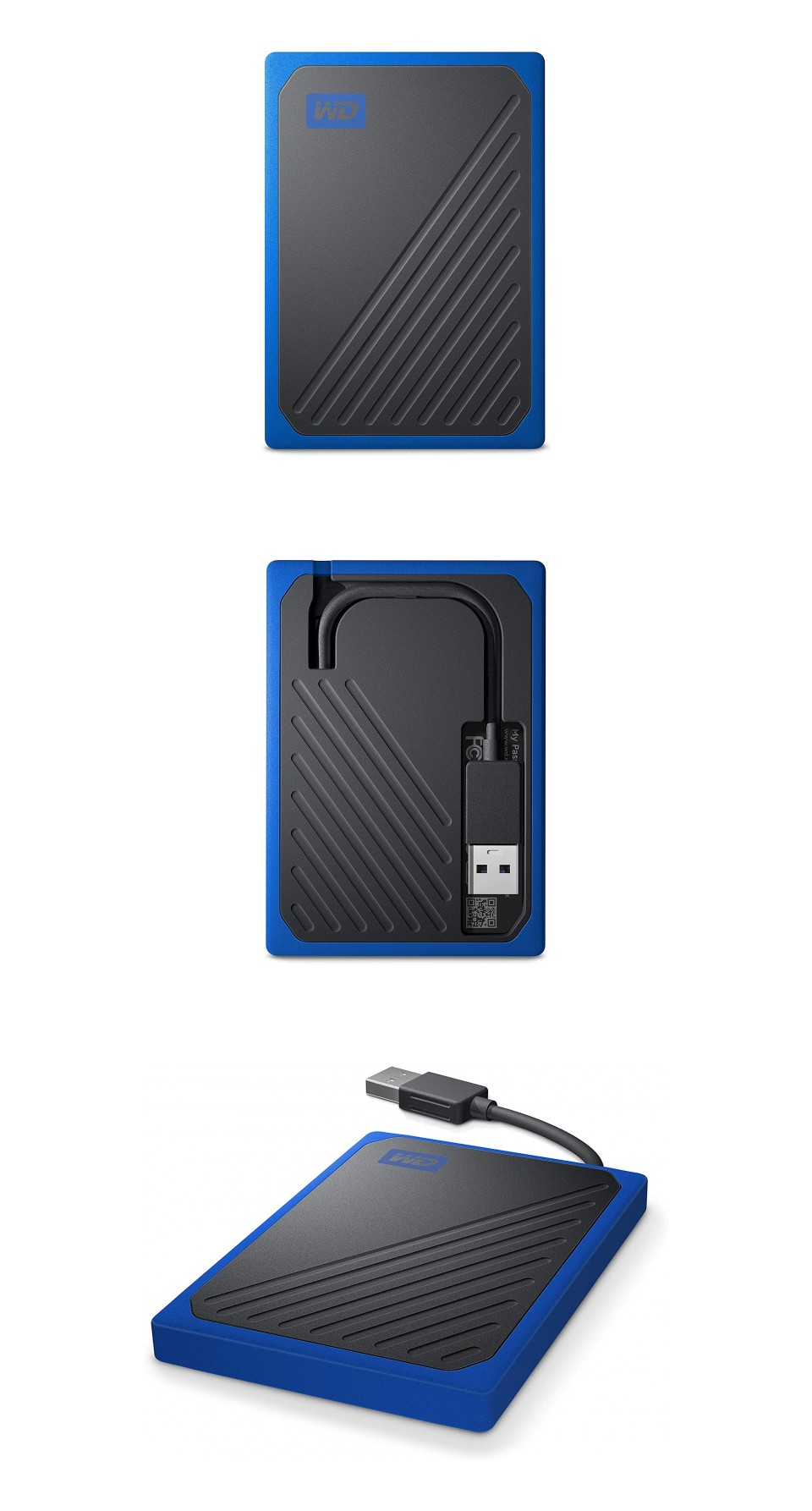 Western Digital My Passport Go Portable SSD 500GB Blue product