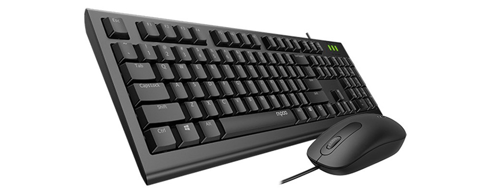 Rapoo X120 Pro Keyboard and Mouse Combo product