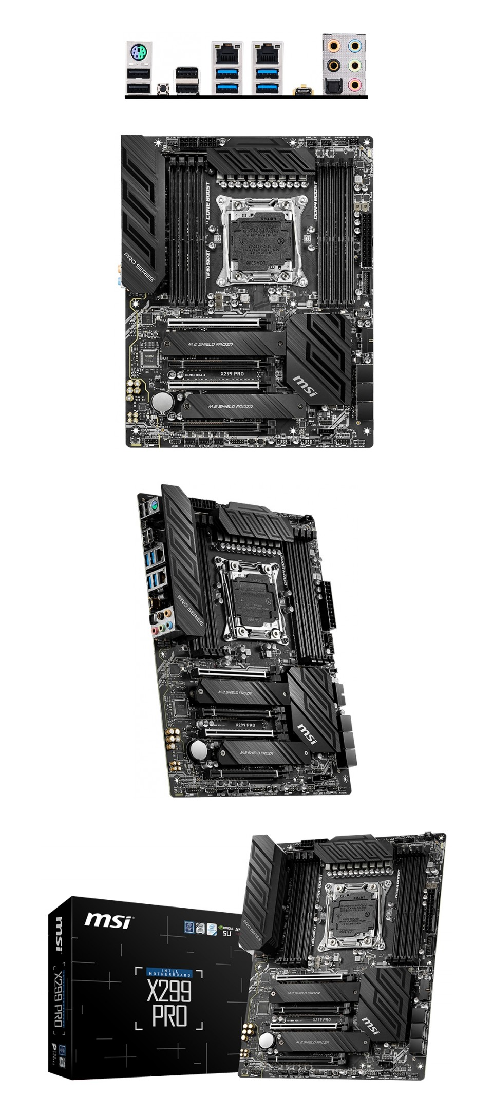 MSI X299 Pro Motherboard product