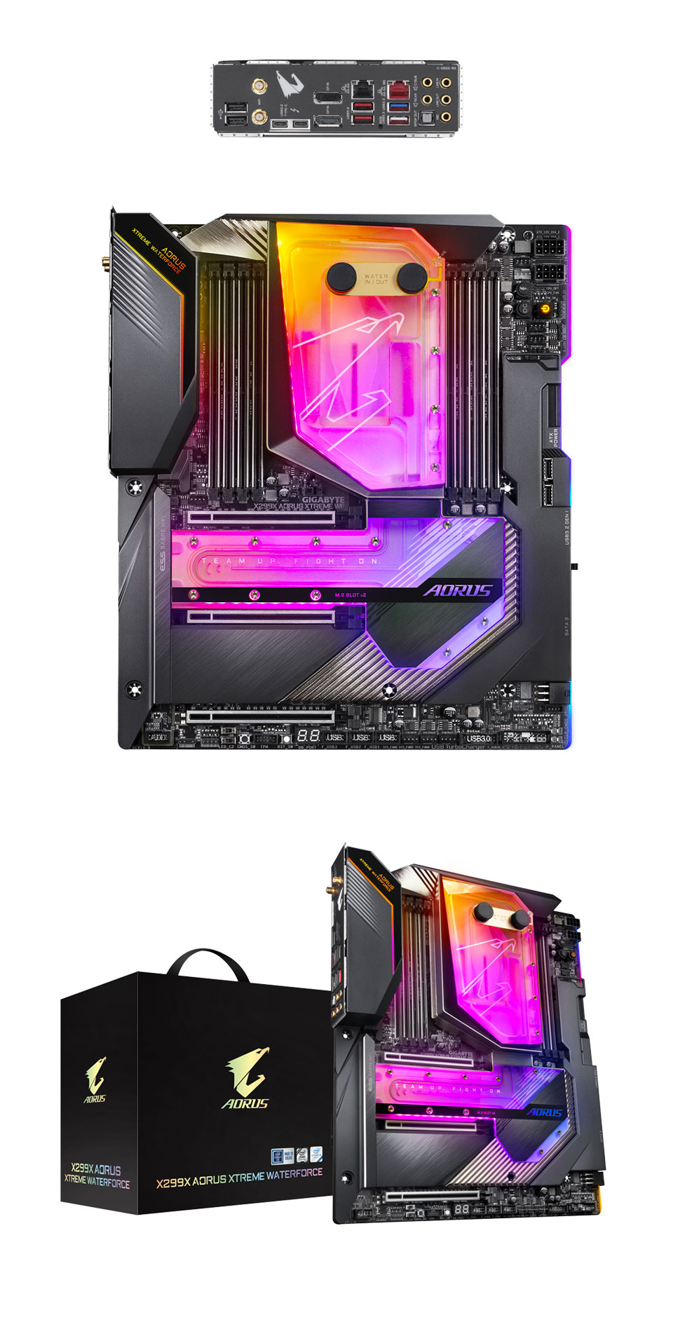 Gigabyte AORUS X299X Xtreme Waterforce RGB Motherboard product