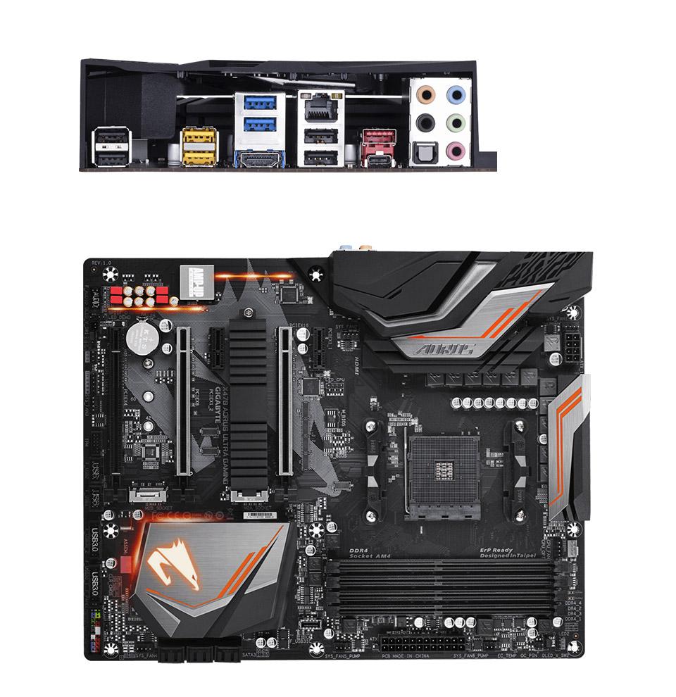 Gigabyte X470 Aorus Ultra Gaming Motherboard