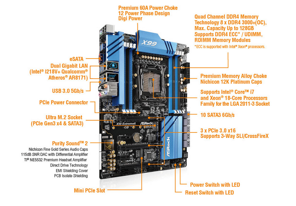 ASRock X99 Extreme6 Intel LAN Drivers Windows