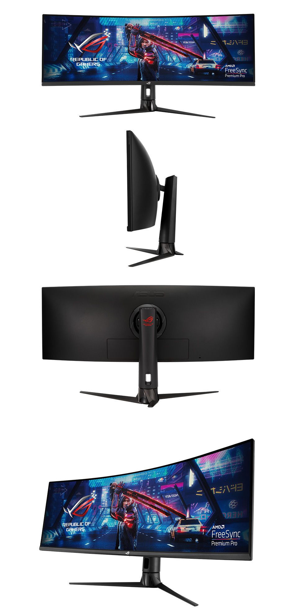 ASUS ROG XG43VQ DFHD+ S-UltraWide 120Hz FreeSync 43in Monitor product