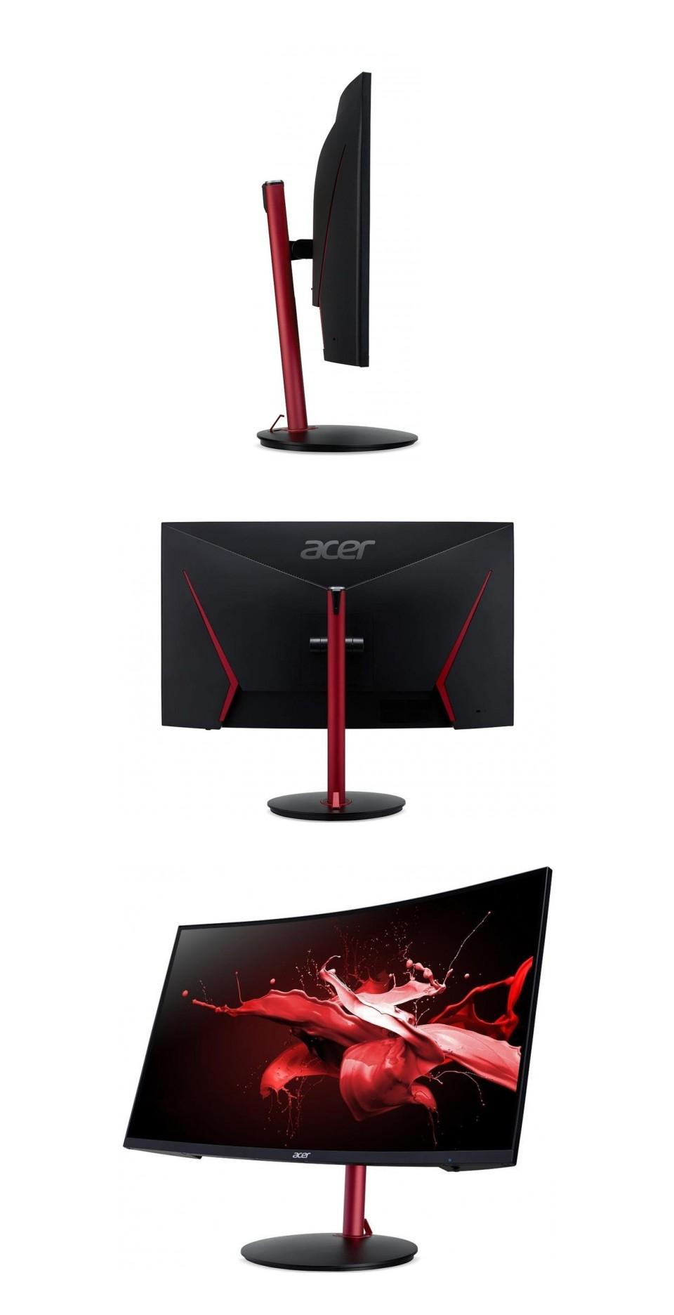 Acer Nitro XZ272P 165Hz FreeSync Curved HDR IPS 27in Monitor product