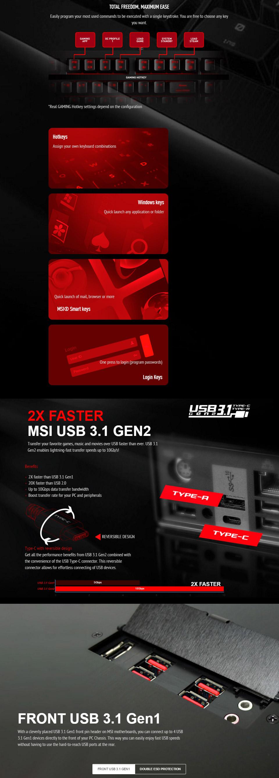 MSI Z170A Krait Gaming 3X Motherboard [Z170A-KRAIT-GAMING-3X