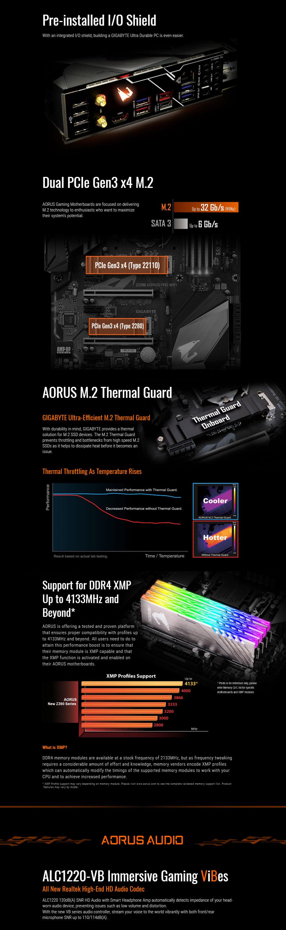 Gigabyte Z390 Aorus Pro WiFi Motherboard