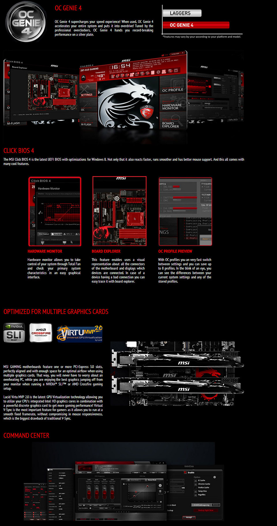 MSI Z87-G45 Gaming Motherboard [Z87-G45-GAMING] : PC Case Gear