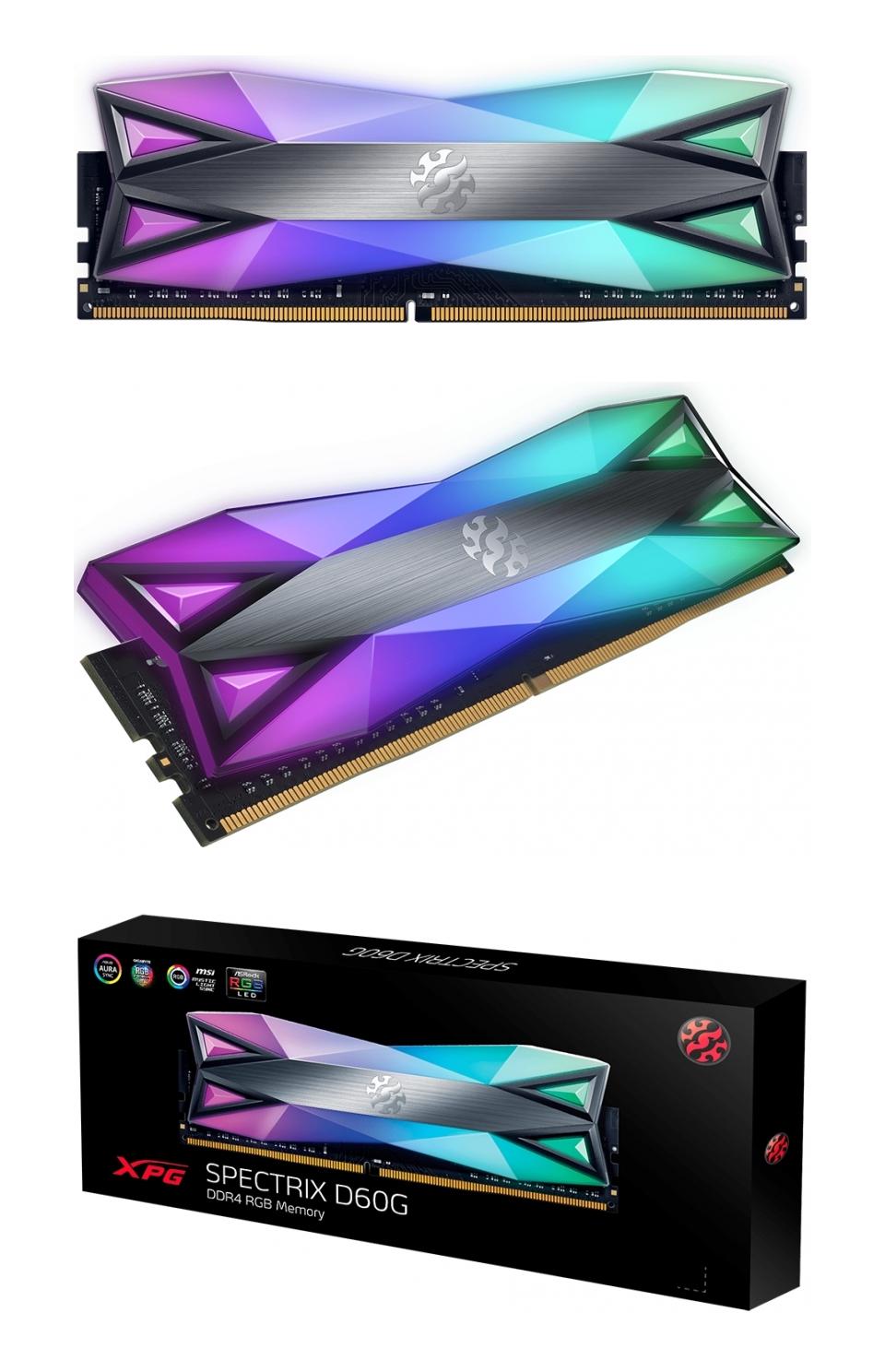 ADATA XPG Spectrix D60G RGB 3200 MHz 16GB (2x8GB) DDR4 Grey product